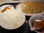 013 王将 餃子定食.JPG