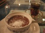 トルコ料理ウスキュダル ココアプリン.JPG