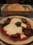 トルコ料理ウスキュダル ナスのフライトマトソース添え.JPG