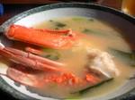 魚見亭8 江の島丼 かにの味噌汁.jpg
